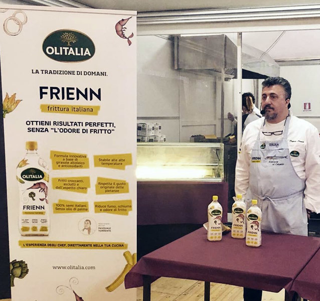 Fritto Misto: Olitalia at the gastronomic festival dedicated to the tradition of frying 1