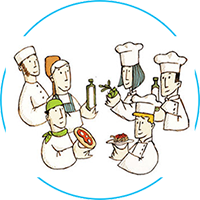 The added value of an active partnership with the chefs 1