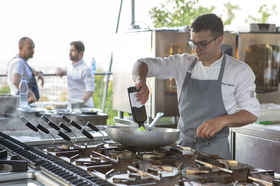 Spessore: 50 chefs and pizza chefs together in Torriana 16
