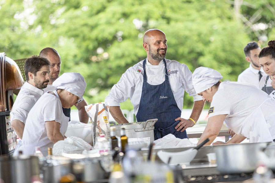 Spessore: 50 chefs and pizza chefs together in Torriana 17