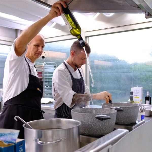 Extra virgin olive oil becomes an ingredient: an Olitalia and JRE event with chef Davide Botta 1