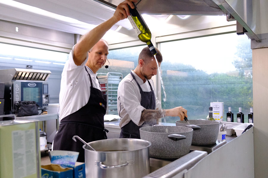 Extra virgin olive oil becomes an ingredient: an Olitalia and JRE event with chef Davide Botta 4