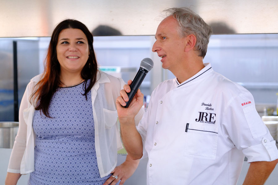 Extra virgin olive oil becomes an ingredient: an Olitalia and JRE event with chef Davide Botta 6