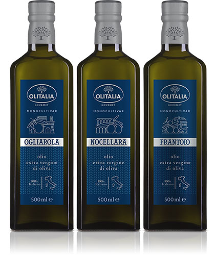 Products: an all new packaging for Olitalia's Monocultivar 1