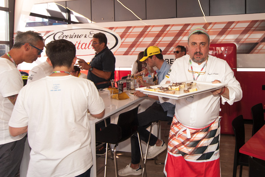 Olitalia on the racetrack at Mugello with Pasquale Torrente 4