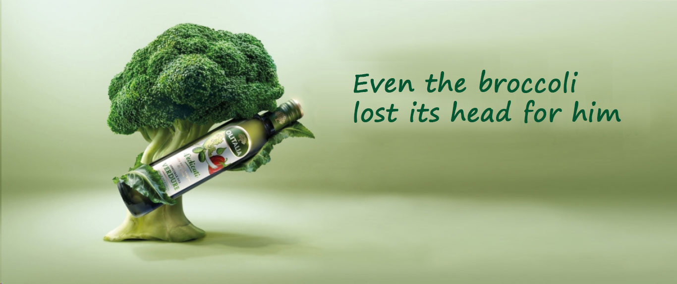 Even the broccoli lost its head for him