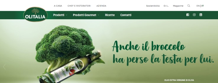A new image for Olitalia, a new website and new social media 1