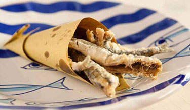 Pasquale Torrente's Fried Anchovies 1